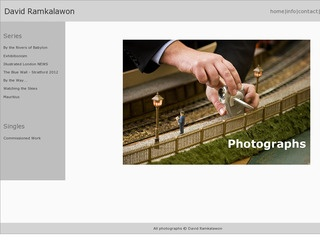 David Ramkalawon Photographer