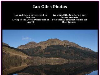 Ian Giles Photos