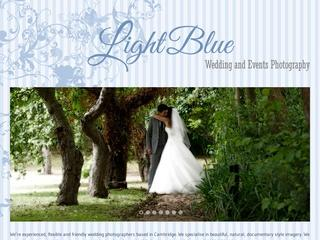 Light Blue Wedding Photography