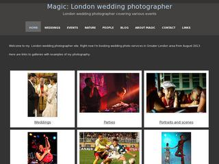 Magic: London wedding photographer