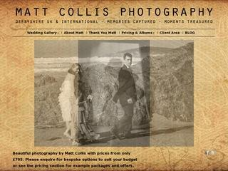 Matt Collis derbyshire wedding photographer
