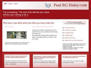 Paul R G Haley