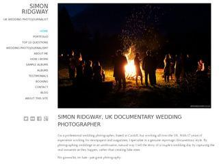 Simon Ridgway  Wedding Photojournalist